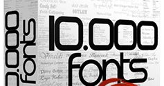 10.000 Font Premium [the Ultimate Bundle 2014]