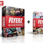 100 Flyer templates + 20 Flyer freebies bonus!