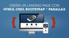 HTML5, CSS3, Bootstrap y Parallax