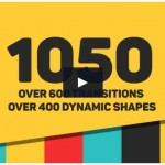 Videohive - After Effects Template - Dynamic Shapes - Animated Shape Layer Elements