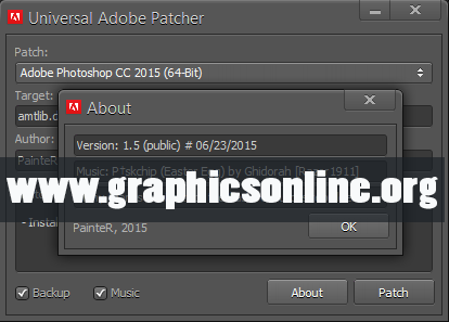 Universal Adobe Patcher v1.5