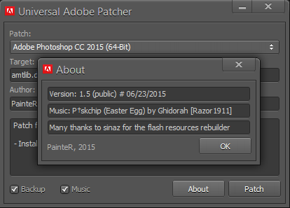 universal adobe patch