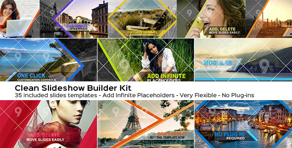 Videohive: The Slider Wizard Builder Kit - After Effects Project