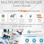 Multipurpose Facebook Covers Bundle 48 PSD