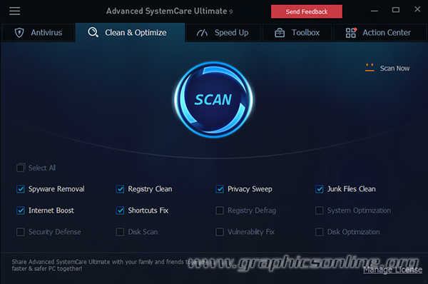 Advanced SystemCare Ultimate v10.0.2.85 + Portable [Protege contra Virus, Spyware, Hackers y Mas]
