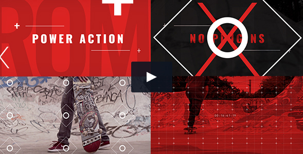Videohive: Power Action Promo - Project for After Effects