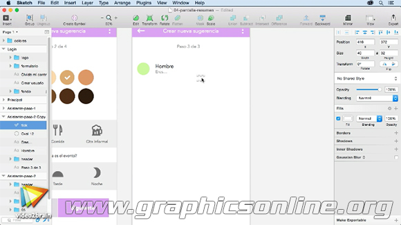 Videos2Brain: Diseño de interfaz para app con Sketch y Marvel