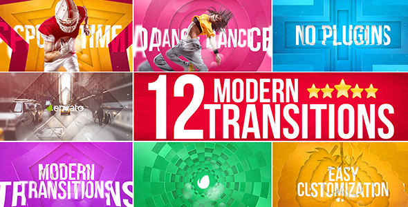 Videohive: Modern Transitions