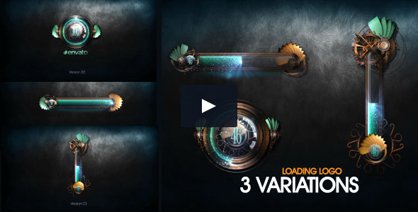 Videohive: Loading Logo - Project for After Effects