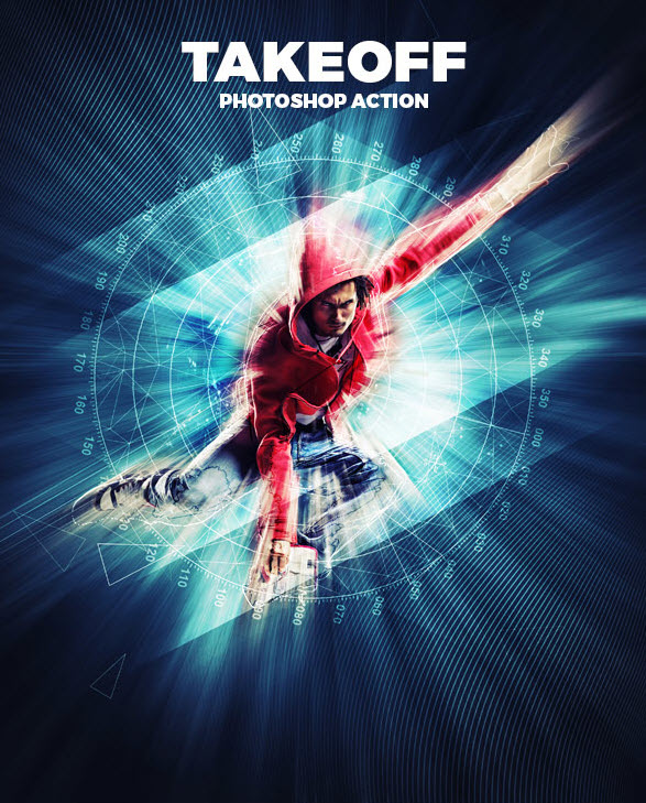 GraphicRiver - Take Off Action