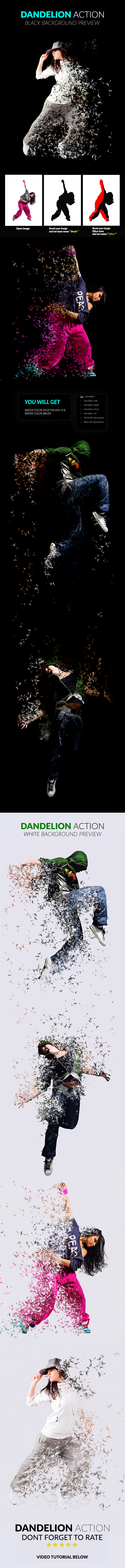 GraphicRiver - Dandelion Action