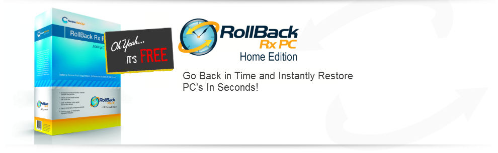 RollBack Rx Pro 10.4, Server 2.0, Drive Vaccine Restore Plus 10.5