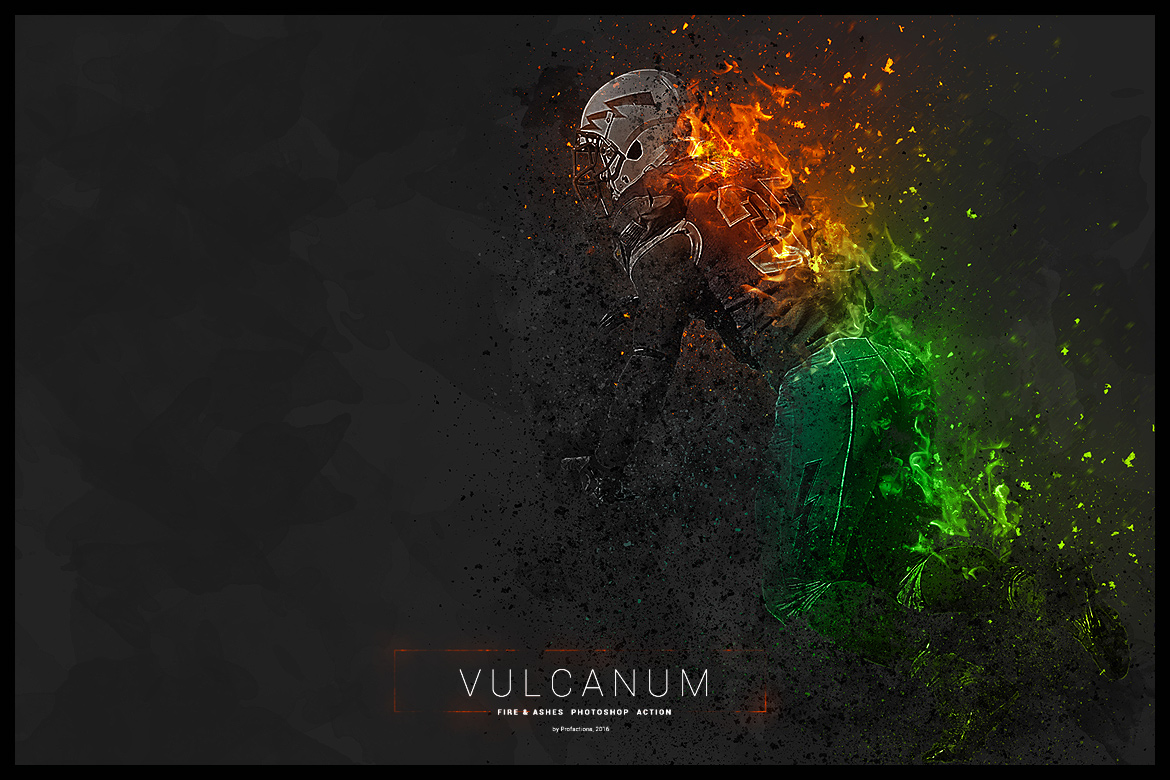 GraphicRiver: Vulcanum Fire & Ashes Photoshop Action