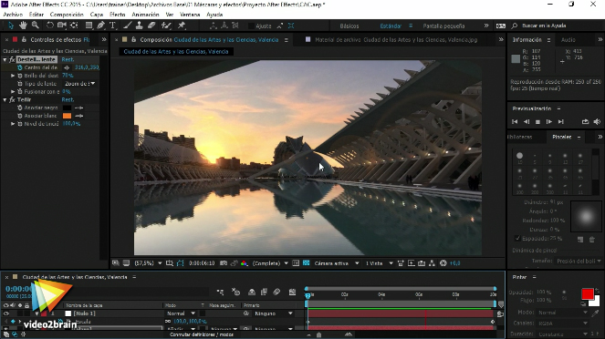 Videos2Brain: Fotografía animada en After Effects