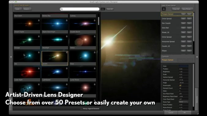 Red Giant Knoll Light Factory v3.2.1 - Plugin Para Photoshop