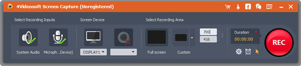 4Videosoft Screen Capture v1.1.6 [Graba La Pantalla de tu PC]