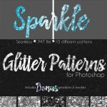 CreativeMarket Glitter Texture Patterns Photosho