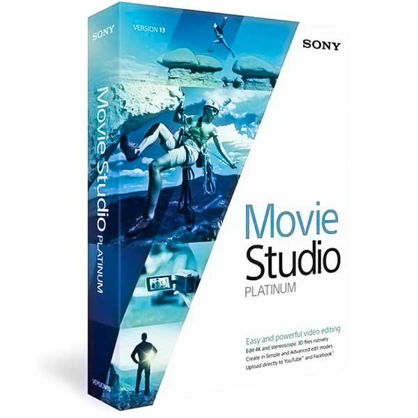 MAGIX Movie Studio Platinum v13.0 Build 987 [Edición de vídeo y creación de DVD]