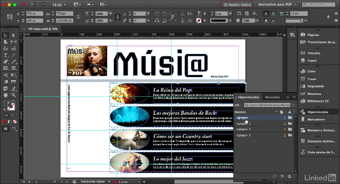 Videos2Brain: Novedades de InDesign CC 2017
