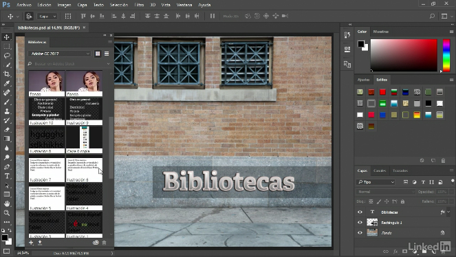 Videos2Brain: Novedades de Photoshop CC 2017