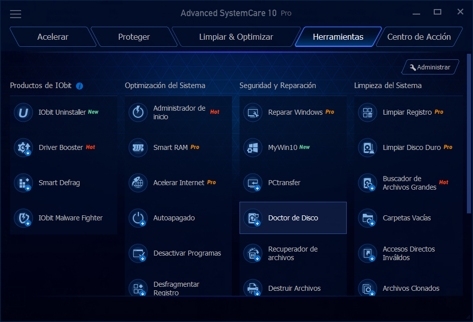 Advanced SystemCare Pro v10.5.0.869 + Portable [Limpieza para tu Pc]