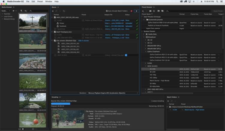 Adobe Media Encoder CC 2018 v.12