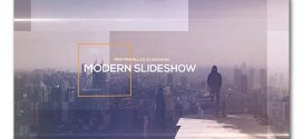 VideoHide | Modern Parallax Slideshow– After Effects Project Files
