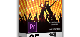 Premiere Pro |Flash Preset Pack  – Free download