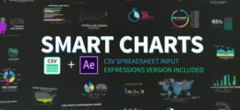 VideoHive |Smart Charts CSV Infographics  – AE TEMPLATES