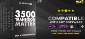 After Effects Project – Ultimate Transition Mattes Pack