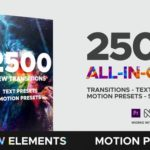 Premiere Pro Project - 2500 Transitions
