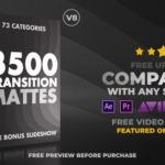 After Effects Project - Ultimate Transition Mattes Pack