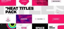 VideoHive |Neat Titles Pack