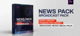 Premiere Pro|News Library – Broadcast Pack